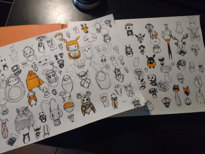 Project Buds First Character Concepts1